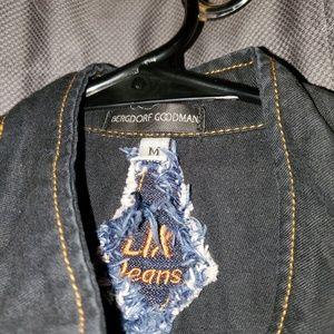 Bergdoff Goodman womans jean shirt